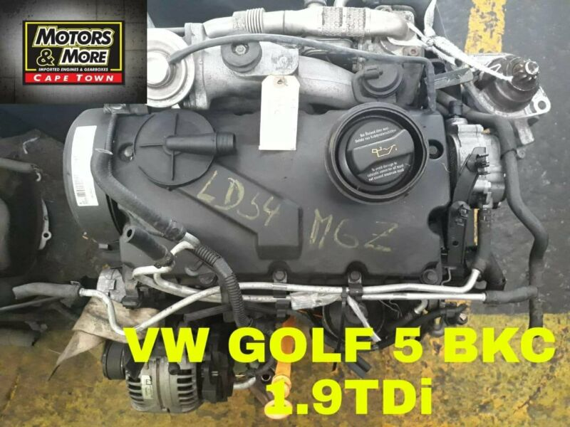 VW Golf 5 BKC 1.9TDi Engine For Sale No Trade in Needed