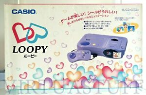 Casio Loopy Console, My Seal Computer SV-100, Esclusive Japan Market, brand new!