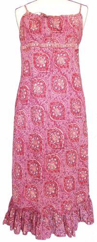 Longueur Bretelle Anokhi 100 Genou Robe Floral Cotton 5w7q7xZnSU