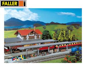 Faller-N-222126-2-Bahnsteige-NEU-OVP
