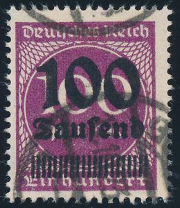 DR-1923-MiNr-289-a-sauber-gestempelt-gepr-Infla-Mi-140