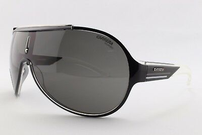 New Carrera Sunglasses 26 W5Y Black White Sports Racing 100/% Genuine Designer