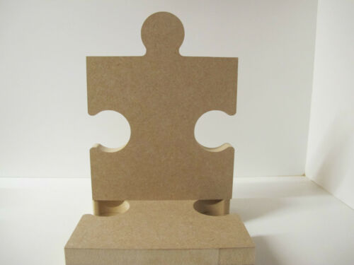 Wooden Puzzle Piece Premium Quality 200mm High 18mm Thick