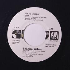 SHANICE WILSON: No 1/2 Steppin / Same 45 (dj) Soul