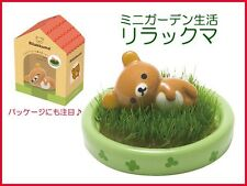 Rilakkuma Mini Garden Petite Planter Shippon Kawaii Ceramic Figure Set  ❤️