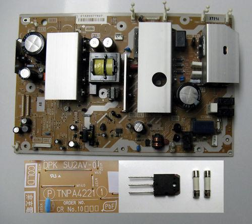 Panasonic TH-42PX77U Power Board TNPA4221 Repair Kit