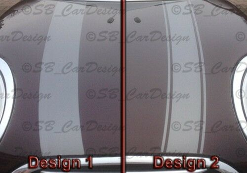 Stripes Stripes Stickers Bonnet for f54 Clubman MINI Cooper One WORKS Jack
