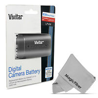 Vivitar Lp-e6 Battery For Canon Eos 5d Mark Iii Mark Ii 6d 60d 7d Mark Ii 70d on sale