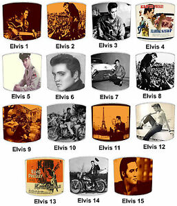 Lampshades-Ideal-To-Match-Vintage-Retro-Elvis-Presley-Bedding-Sets-amp-Duvet-Cover