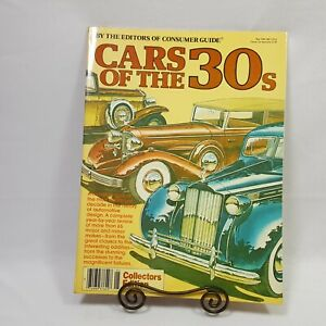 Consumer Crafts Review >> Cars Of The 30 S By The Editors Of Consumer Crafts Paperback