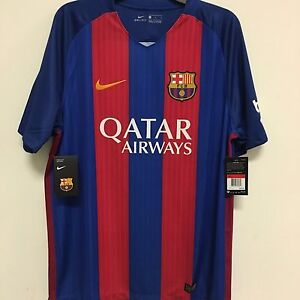 8dd22974d Nike FC Barcelona Official 2016 2017 Home Soccer Football Jersey w ...