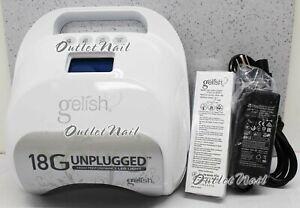 GELISH-HARMONY-18G-UNPLUGGED-Mobile-LED-Gel-Light-Lamp-BATTERY-Dryer-UK-AU-EU