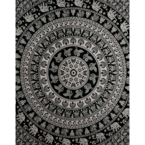 Retro Boho Mandala Tapestry Wall Decor Beach Travel Blanket Yoga Mat Home Carpet