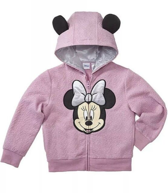 Disney Minnie Mouse Zip Jacket for Baby Size 3-6 MO Multi