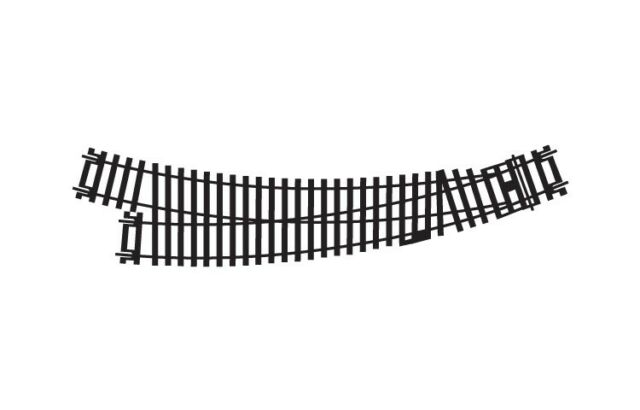 Hornby R8075 Right Hand Curve Point Track - OO Gauge