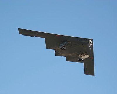 Modellflugzeuge Luftfahrt & Zeppelin Independent B-2 Stealth Bomber Mit Fahrwerk Unten 11x14 Silber Halogen Fotodruck Cheap Sales 50%