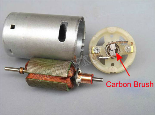 DC12V1500rpm Long Shaft Gear Motor 390 Gear Motor Carbon Brush Fruit Juice Mixer
