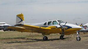 Beechcraft Model 50 Twin Bonan...