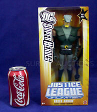 "NEW - 10"" GREEN ARROW Figure - DC JUSTICE LEAGUE UNLIMITED - 2005 Mattel - NEW"