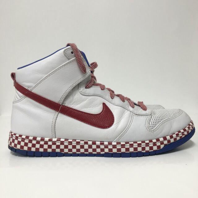 Size 12 - Nike Dunk High Supreme White