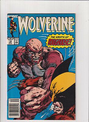 Marvel Comics Presents #18 FN 1989 Stock Image