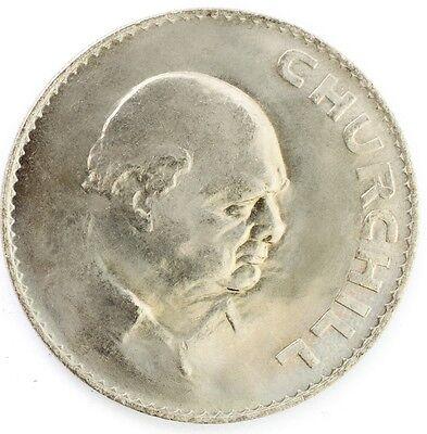 1965 CROWN UNC - Winston Churchill Crown Coin