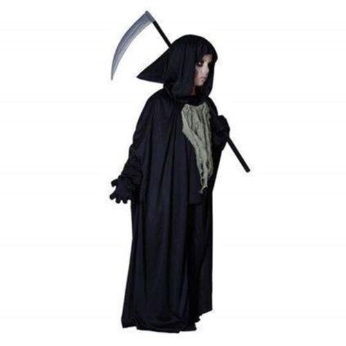 Morte BAMBINO HALLOWEEN FANCY DRESS COSTUME, Zombie, Ghost, LARGE ETÀ 9-12