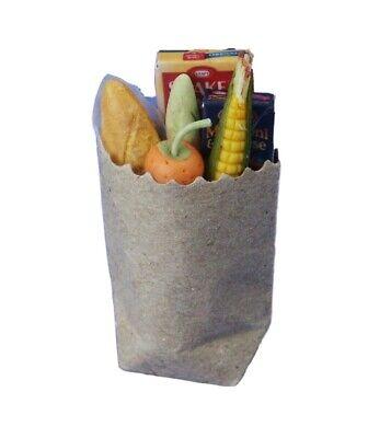 V060 Dollhouse Handmade Bag of American Baked Potatoes Miniature rement 1:12