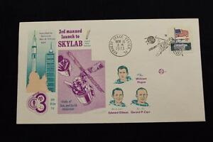 Espacio-Cubierta-1973-Pictorico-Cancelado-Skylab-3RD-Manned-Mision-a-Sta-677