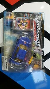Transformers Armada Sideswipe with Nightbeat Hasbro Action Figure