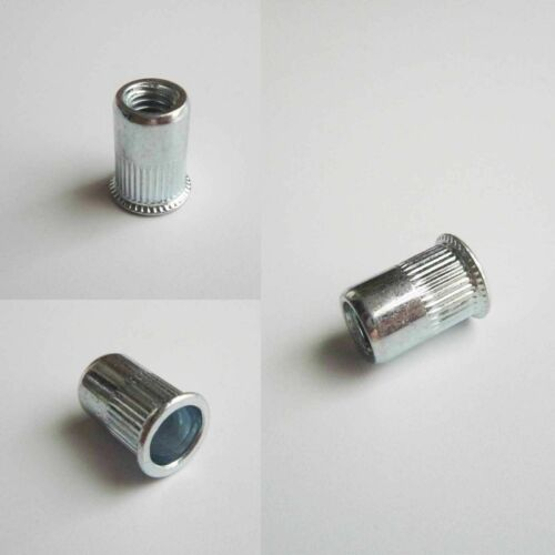 Multi Threaded Blind Insert Rivet Nut Rivnut Nutsert Blindnut M3M4-M8 Screw Bolt