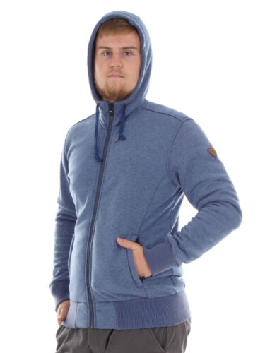 CMP Fleecejacke Sweatjacke Freizeitjacke blau gefüttert Taschen warm