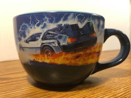Back To The Future 24 Oz Jumbo Soup Coffee Tea Mug Bowl UNIVERSAL STUDIOS NEW