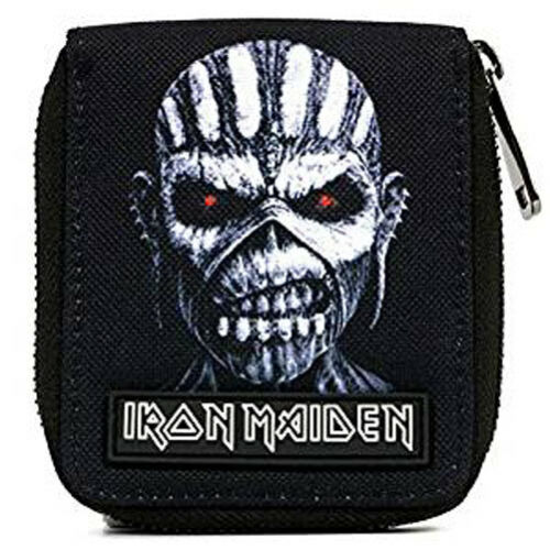 Iron Maiden Book Of Souls Zipped Wallet