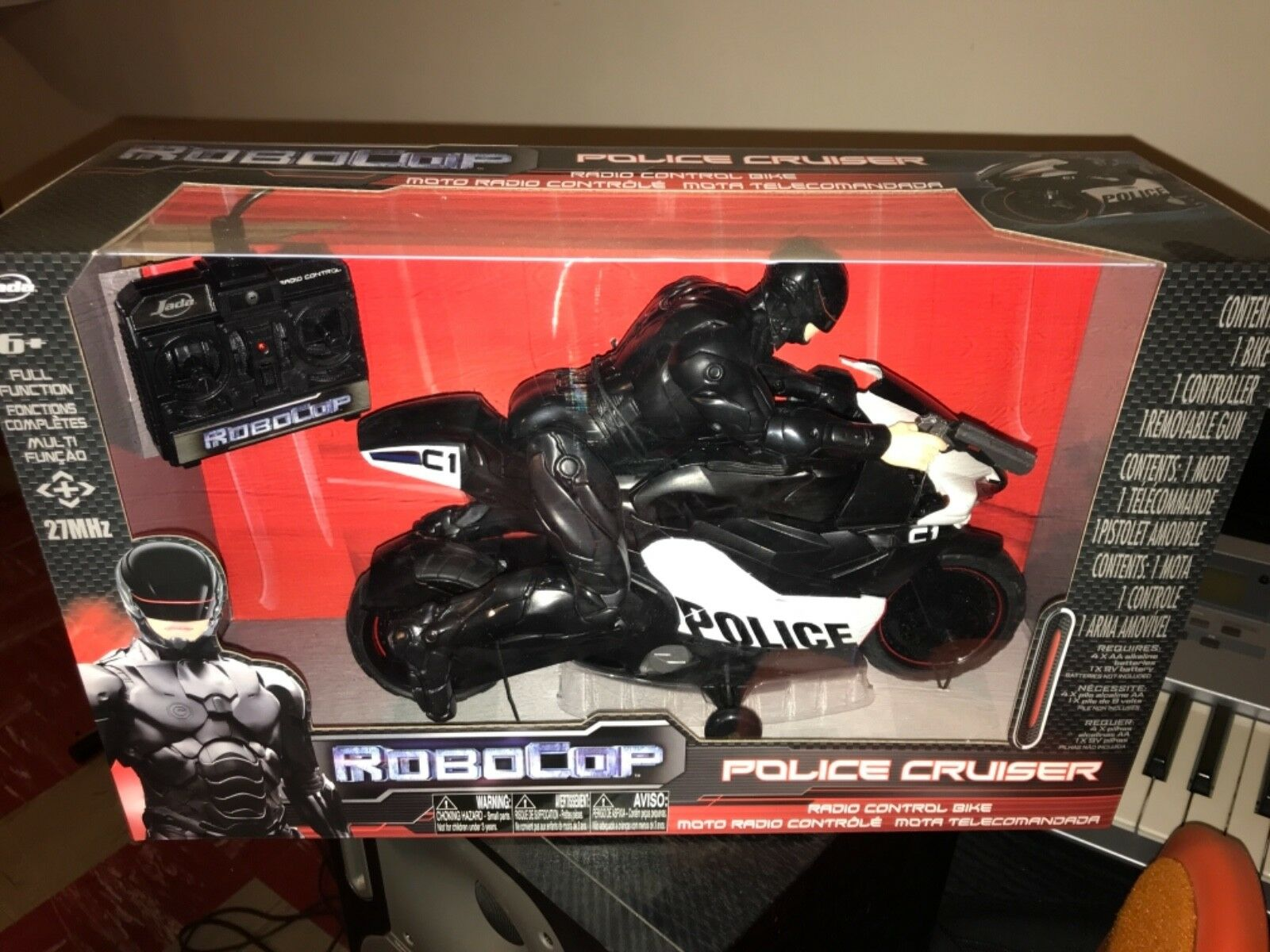 RoboCop Jada Police Cruiser New