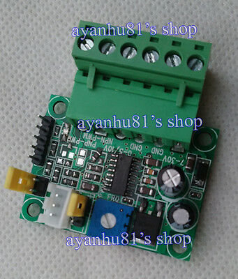 Hot 0-5V/0-10Vto0-100% Analog Input Voltage to PWM Signal Converter board PLC AD