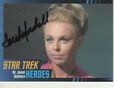 "SARAH MARSHALL SIGNED 2013 ""STAR TREK"" TOS HEROES & VILLAINS #54 - JANET WALLACE"