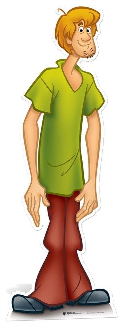 Shaggy Scooby-Doo LifeGröße CARDBOARD CUTOUT standee standup cartoon cool kids