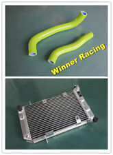 Aluminum Radiator /&Silicone Hose Fit Suzuki LTZ400 DVX400 KFX400 2003-2008