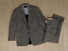 Tommy Hilfiger Gray 2 Piece Suit Men's Size Jacket 41 R Pants 42x36 Formal Wear