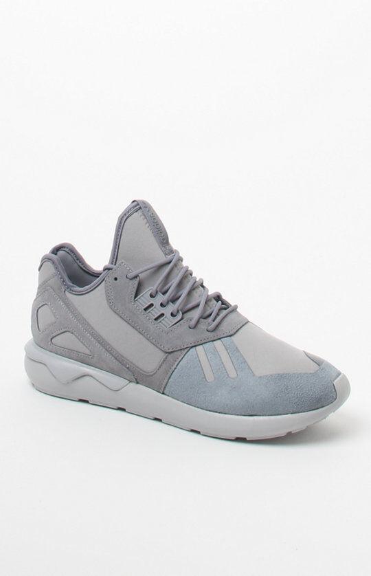 MENS GUYS adidas Tubular Runner Grey  SHOES SB SNEAKERS NEW