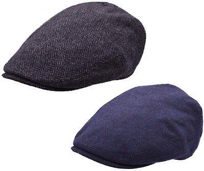 Homme Cordon En Forme De Plat Cap New Baker Boy Hat qualité Newsboy Visière Pays Cap