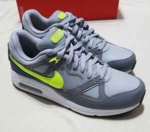 competitive price 044ba 84d07 Image is loading NIKE-AIR-MAX-SPAN-TRAINERS-SNEAKERS-GREY-VOLT-