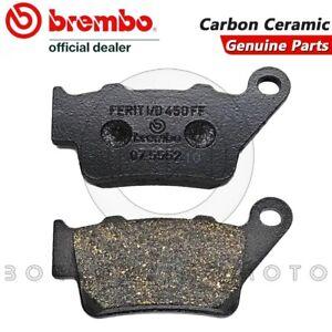 Pastiglie Freno Posteriori Brembo Carbon Ceramic Ktm Lc4 Supermoto 640 2003 Forfaits à La Mode Et Attrayants