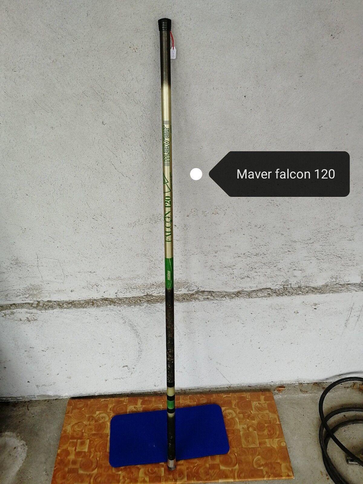 Articolo C010 - Canna da pesca Maver falcon 120 - 6 metri