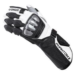 Held Phantom 2 Motorrad Sport Racing Handschuh schwarz/weiß NEU! 8
