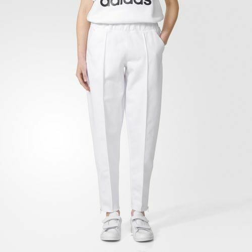 ADIDAS HYKE track pants WHITE NWT size Medium M retail $160 AJ5460