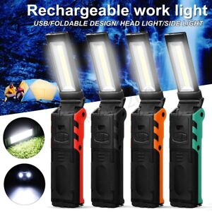 90000LM-Rechargeable-COB-LED-Torch-Flashlight-Work-Light-Lamp-Magnet-Power-L