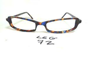 5341d2a84f New LEGRE Eyeglasses Frame LE148 col.470 Blue Brown Rectangular (LEG ...