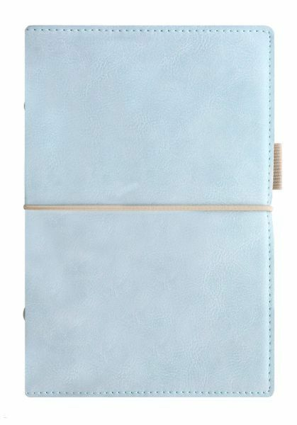Filofax Terminplaner DOMINO SOFT Personal in pale Blau | Exquisite (in) Verarbeitung  | Attraktiv Und Langlebig  | Haltbarkeit